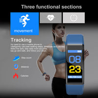 Color Screen Sport Pedometer Watch-Smart Product Sales