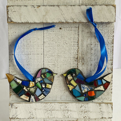 DIY Mosaic Kit | 2 Birds - Mosaics at the Farm