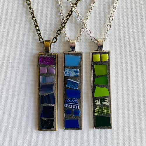 Custom Made - Mosaic Ombre Necklace - Mosaics at the Farm