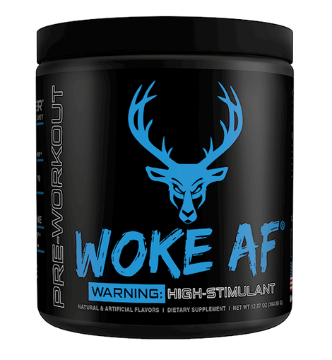 Bucked Up WOKE AF High Stimulant Pre-Workout