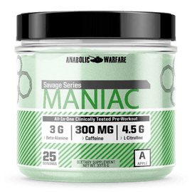 Anabolic Warfare Maniac Pre-Workout