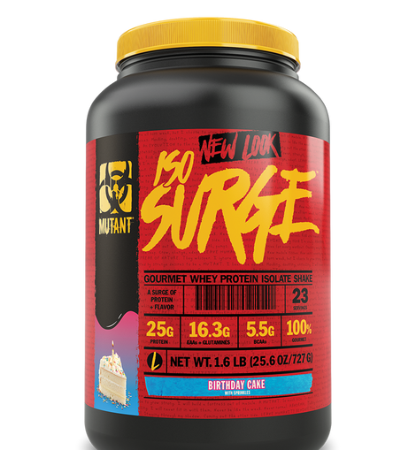 Mutant Iso Surge Whey Protein Isolate 1.6lbs
