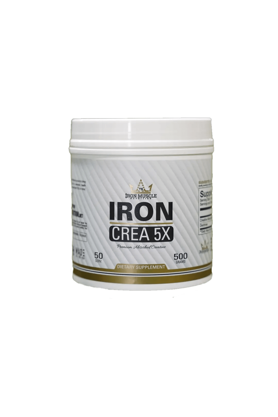 Iron Muscle Creatine w/Dextrose