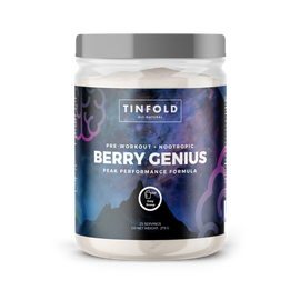 TinFold Pre-Workout Berry Genius