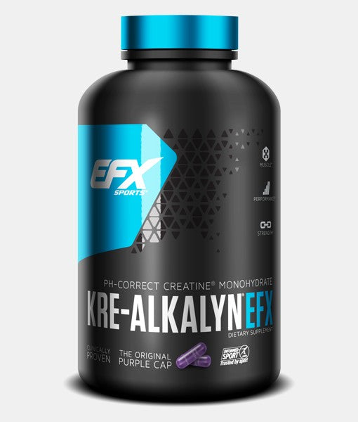 EFX Sports Kre-Alkalyn pH-Correct Creatine Monohydrate (260 caps)