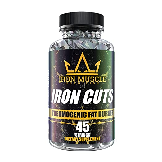 Iron Muscle Nutrition Iron Cuts Thermogenic Fat Burner