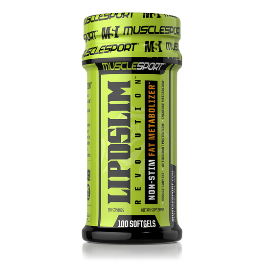 MuscleSport LipoSlim Revolution Non-Stim Fat Metabolizer