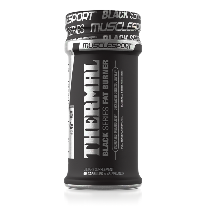 MuscleSport Thermal Black Series Fat Burner