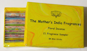 21 Fragrance Incense Sampler by The Mother's Fragrances - Green Apothecary, Inc. - 168797644309