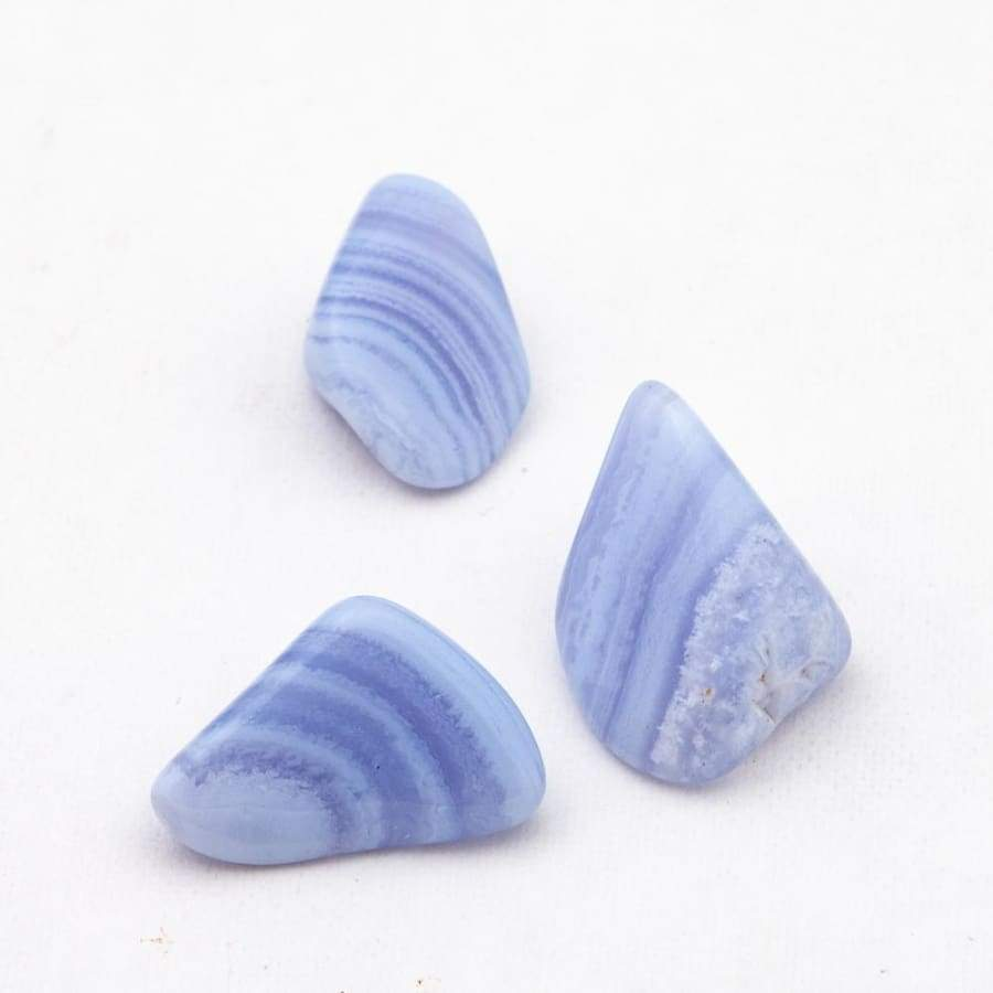 Blue Lace Agate Tumbled - Green Apothecary, Inc. - 4969
