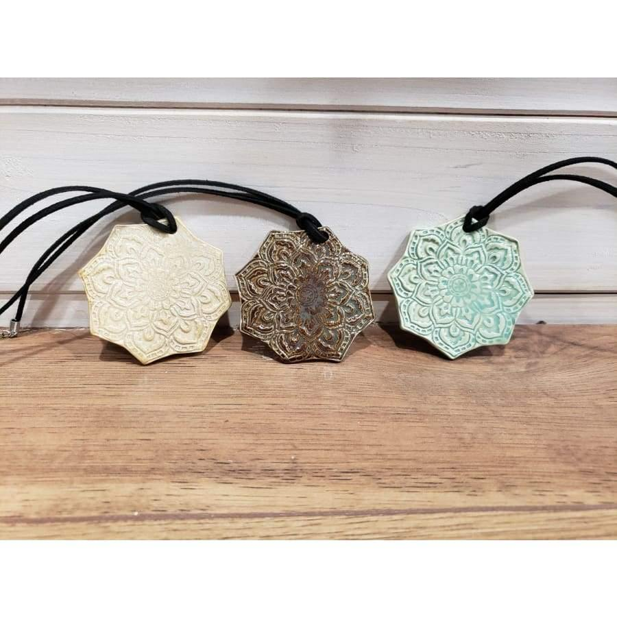 Ceramic Necklace Diffuser by Long Pond Pottery - Green Apothecary, Inc. - 210000001891