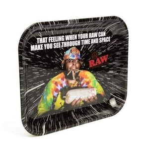 Large Oops Rolling Tray by RAW - Green Apothecary, Inc. - 15532969459