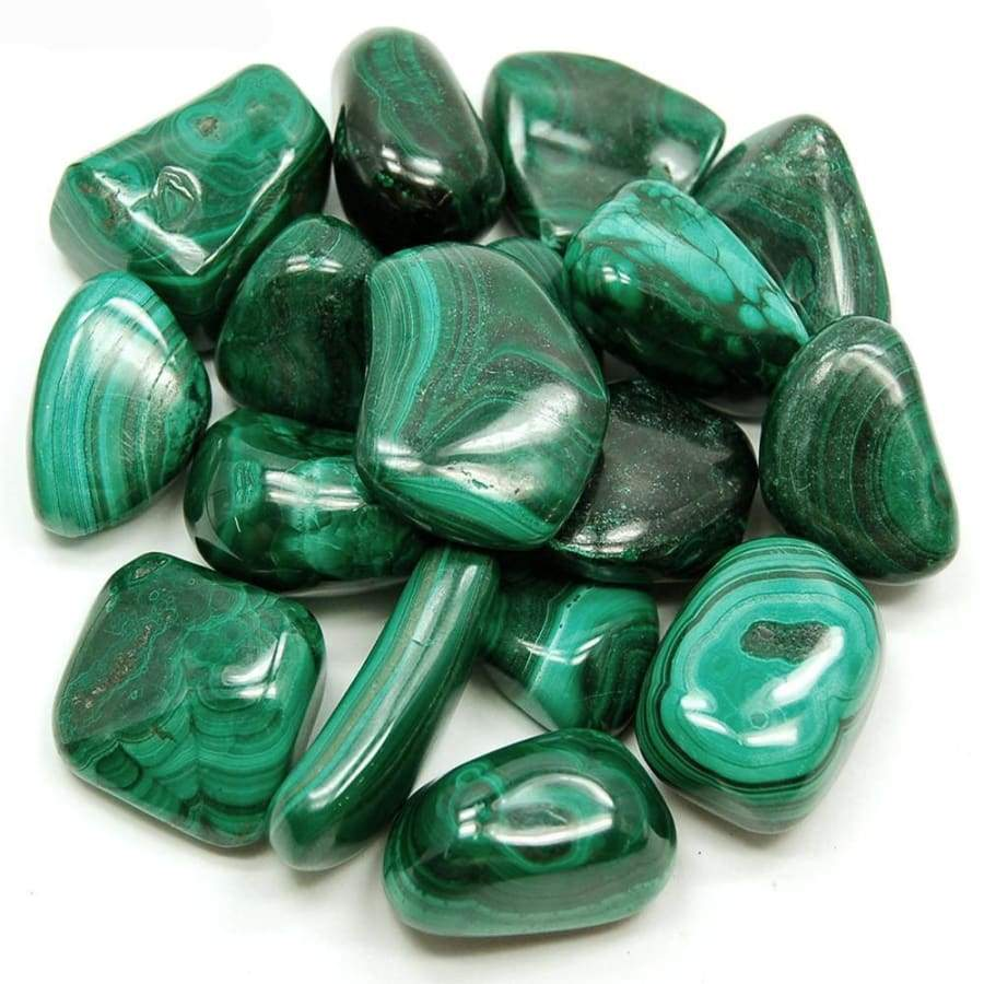 Malachite Tumbled - Green Apothecary, Inc. - 178662667593