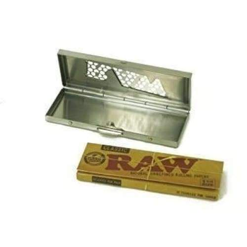 RAW Rolling Papers Shred Case - 1 1/4 - Green Apothecary, Inc. - 716165153894