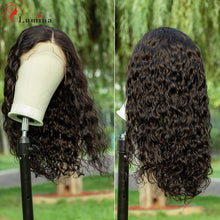 Load image into Gallery viewer, Lace Front Wig 4x4/2x4 Brazilian Body Wave Wig Medium Brown Lace Front Human Hair Wigs Lace Frontal Wigs For Women Curly Wigs