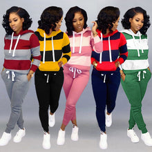 Load image into Gallery viewer, Women's set Tracksuit Full Sleeve Hoodied