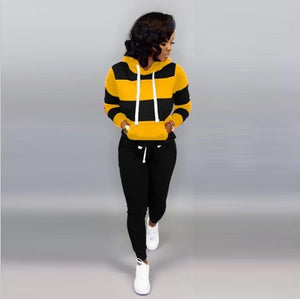 Women's set Tracksuit Full Sleeve Hoodied