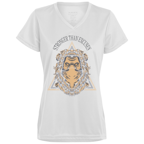Stronger Lion Ladies cut tee