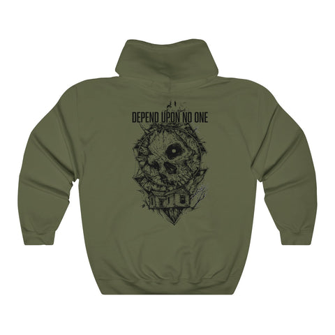 Depend Upon No One Hoodie