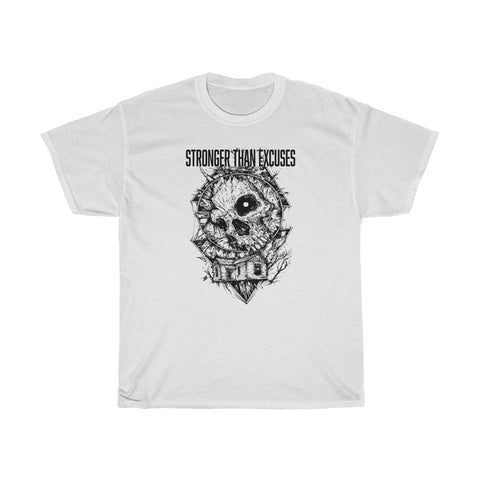 Stronger Than Excuses Two Sided Tee