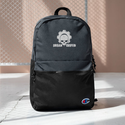 Urban Griffin Logo Embroidered Champion Backpack