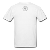 Loyalty Is Earned Raven Tee - white