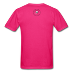 Loyalty Is Earned Raven Tee - fuchsia