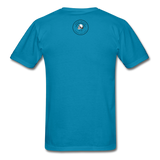 Loyalty Is Earned Raven Tee - turquoise
