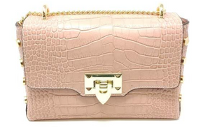 Nude Leather Bag