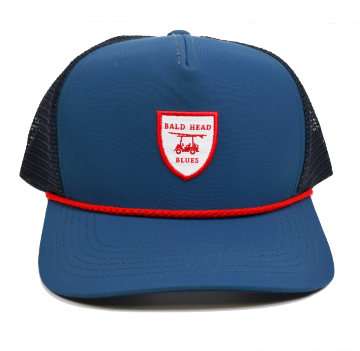 Performance Trucker Hat Navy