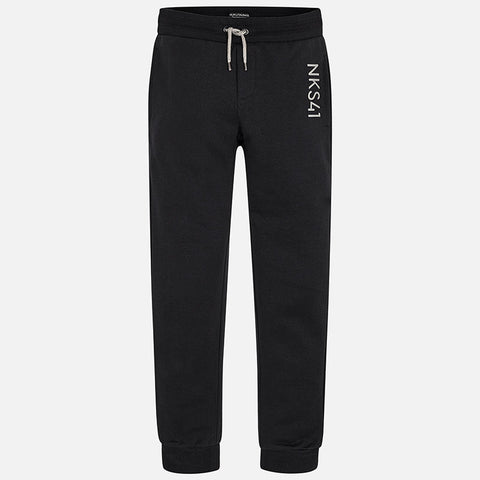 Junior Boys Youth Nukutavake Mayoral Black Casual Pants Style 705 Size 16 or 18