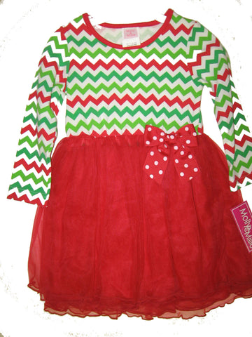 Girls Molly & Millie Chevron Dress Size 3T Only Style 94-221
