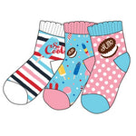 Hatley Girls Icy Treats Set of 3 Pair Socks