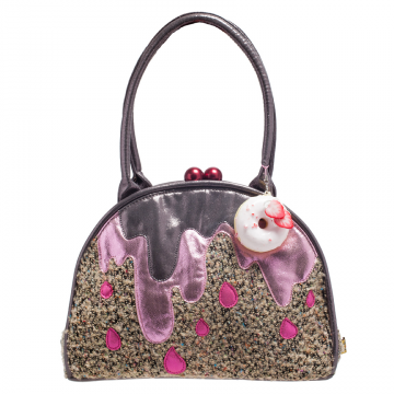 Ladies Irregular Choice Big Cake Handbag Purse