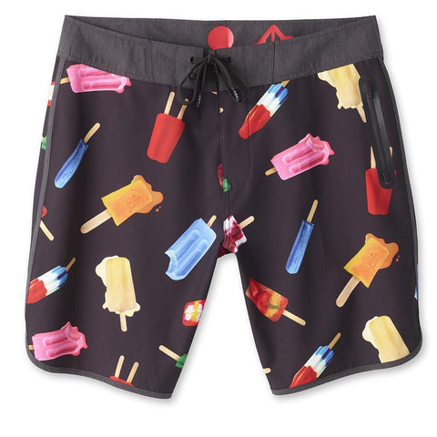 Mens Kavu Go Big I'm Melting Popsicle Print Swim Trunk