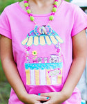 Girls Lemon Loves Lime Lemonade Stand Tshirt - Runwayz Boutique