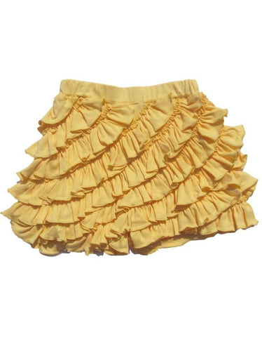 Girls Lemon Loves Lime Skort in Impala Yellow Size 2 Years Only