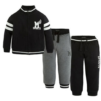 Mayoral Boys 3 Piece Jogging Set - Runwayz Boutique
