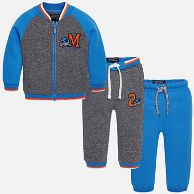 Mayoral Baby Boys 3 Piece Track Set Size 24 Months - Runwayz Boutique