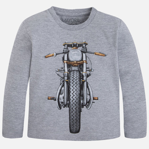 Mayoral Boys Motorbike Long Sleeved Top