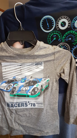 Mayoral Boys 2 Pc Long Sleeved Shirts Set Race Car & Speedometer Print Style 4032 - Runwayz Boutique