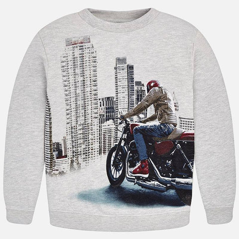 Boys Youth Junior Nukutavake Mayoral Style 7414 Street Sweatshirt Outerwear Street Bike City