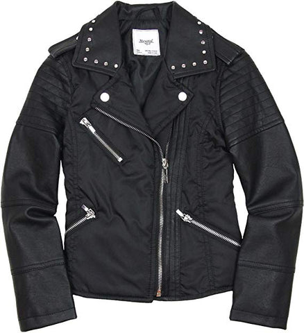 Mayoral Girls Black Moto Jacket Style 4425