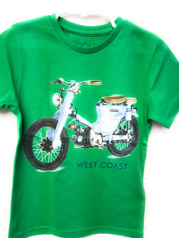 Mayoral Boys Green Scooter Tshirt Style 3019 - Runwayz Boutique