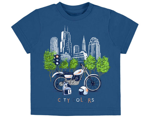 Mayoral Baby Boys City Colors Tshirt Style 1020 - Runwayz Boutique
