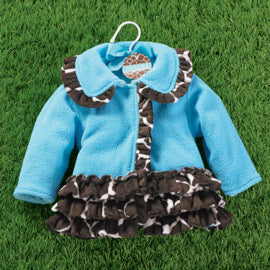 Girls Mudpie Wild Child Giraffe Coat Size 2T/3T Only Item 190091 - Runwayz Boutique