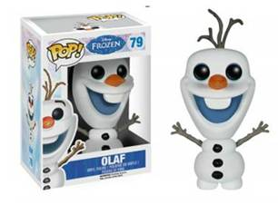 Olaf Pop Figurine from Disney Frozen Toy