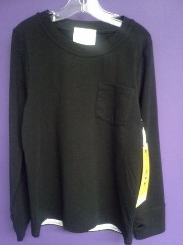 Boys Peekaboo Beans Lazy Dayz Tee in Black Size 8 Only FUN-B304