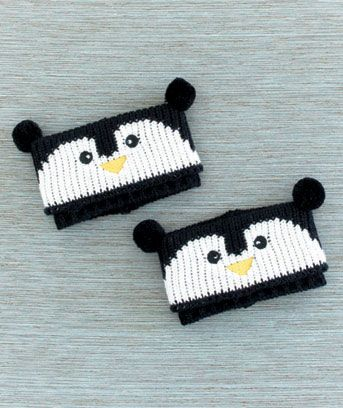 Penguin Bootie Cuties Boot Cuffs