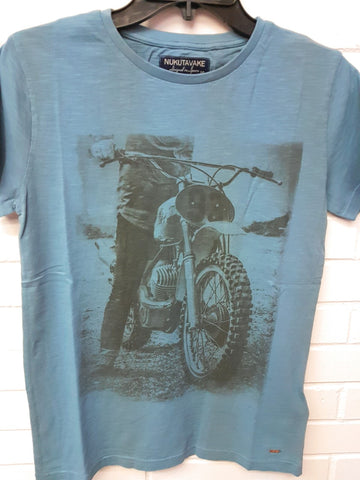 Mayoral Nukutavake Boys Youth Dirtbike short sleeved Tshirt style 6029 Sizes 12 thru 18 - Runwayz Boutique